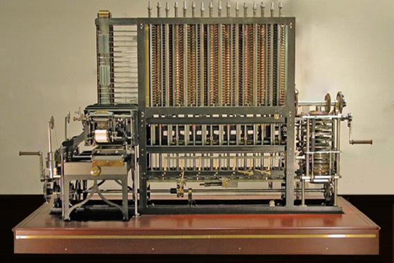 El Motor Analitico, la primera computadora
