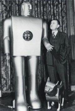 Elektro, El primer Robot Humanoide
