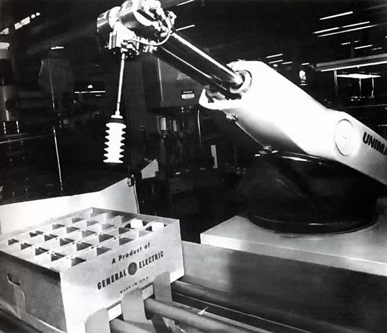 El primer robot Unimate