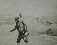 desembarcó en Curamichate el 14 de febrero de 1870.