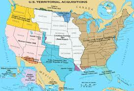 With the Gadsden Purchase, the United States acquires thirty thousand square miles from Mexico.