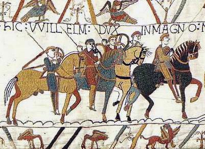 Establecimiento del Imperio Normando en Inglaterra