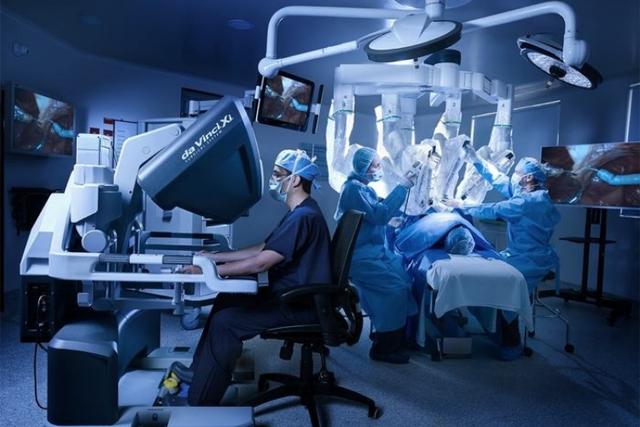 Sistema de cirugía Da Vinci