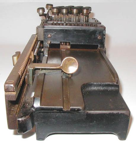 Per Georg Scheutz and his son Edvard invent the Tabulating Machine
