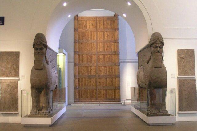 porte di palazzo di Balawat
