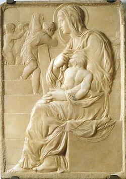 La verge de l'escala de Michelangelo