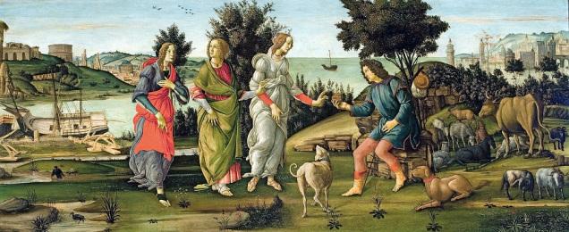 El judici de Paris Sandro Botticelli