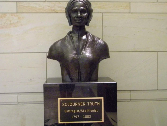 """Sojourner Truth Delivers her """"Ain't I a Women"""" Speech"""