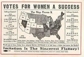 Wyoming Passes America's First Women Suffrage Law