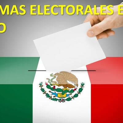 REFORMAS ELECTORALES. timeline