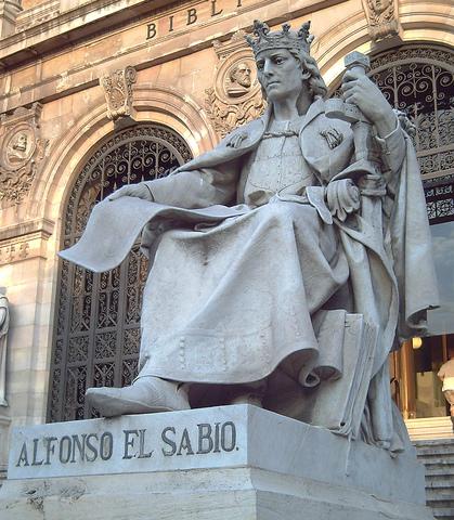"""Nacimiento de Alfonso X """"el sabio"""""""