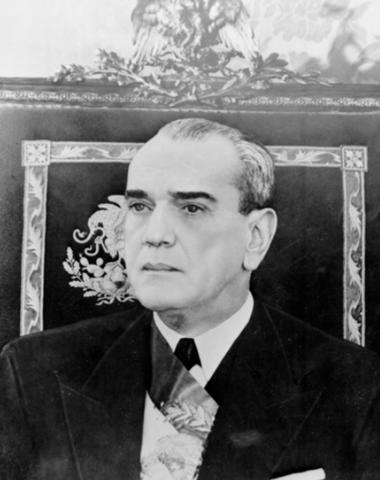 """""""Presidencia de Adolfo Ruiz Cortines""""."""
