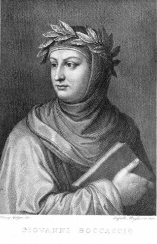 Nacimiento de Giovanni Boccaccio