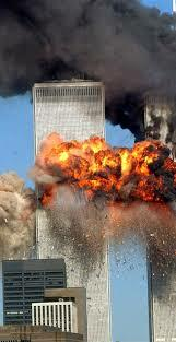 Twin Towers Fall On 9/11