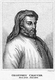 Nacimiento de Goeffrey Chaucer