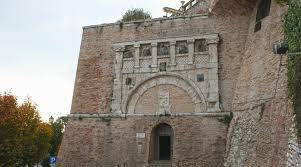 La porta Marxia di Perugia