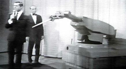 Se instala el primer robot industrial