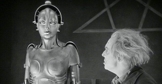 Primera aparición del Robot en el cine