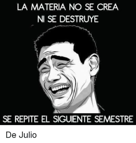 ) LA MATERIA Y POSTULADO (