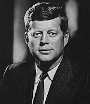 J.F. Kennedy - 35th president of the U.S