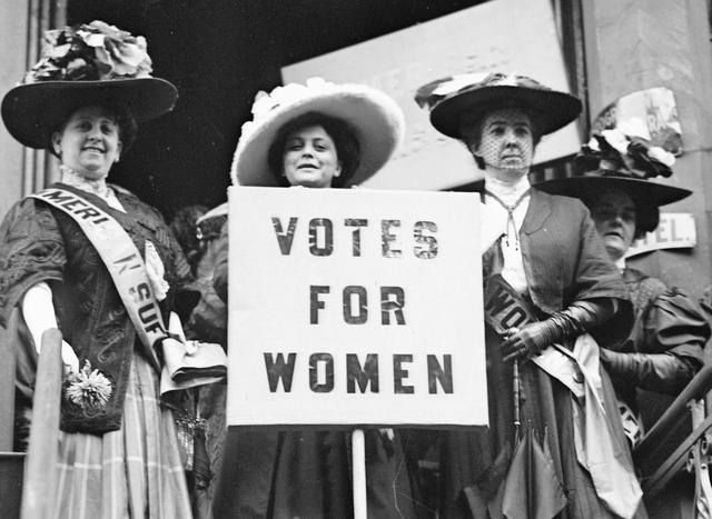 Women's suffrage movement