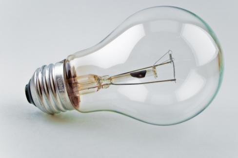 Thomas Edison invents the 1st light bulb
