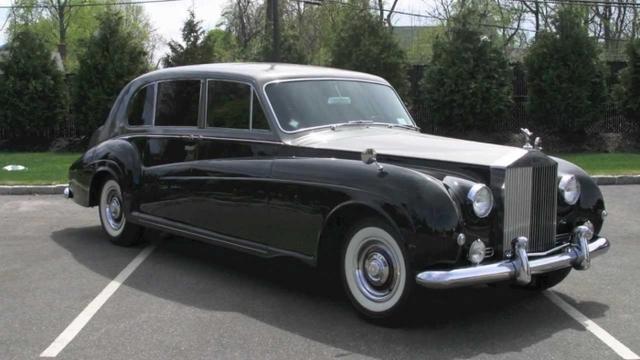 Автомобиль, на котором ездили члены королевской семьи
