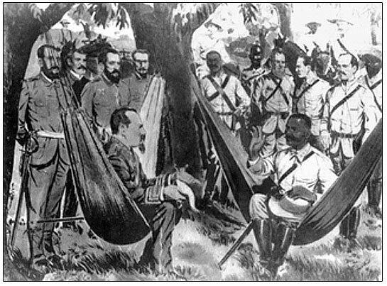 Paz de Zanjón. Fin de la guerra larga en Cuba.
