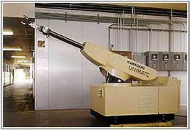 Primer robot 'Unimate''