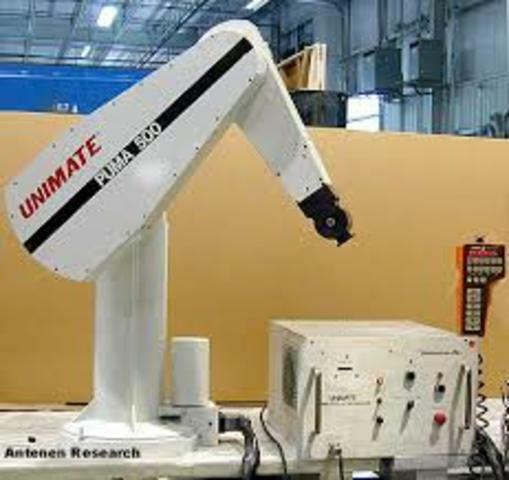 Introduccion del robot PUMA