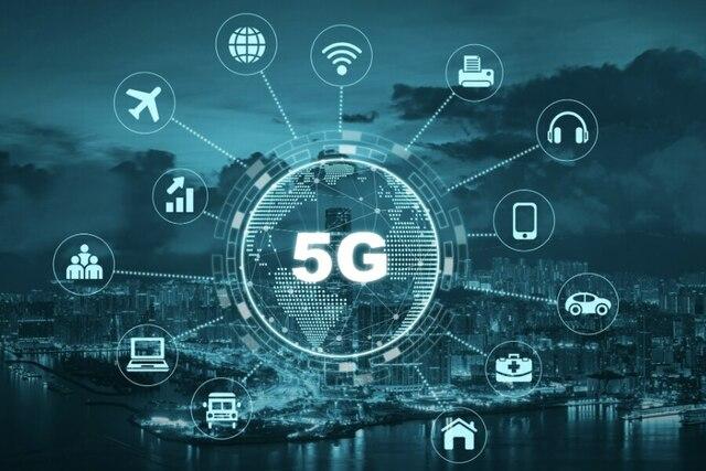 Red de comunicación móvil (5G)