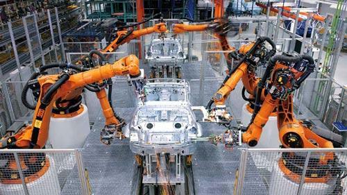 Evolución de los robots industriales