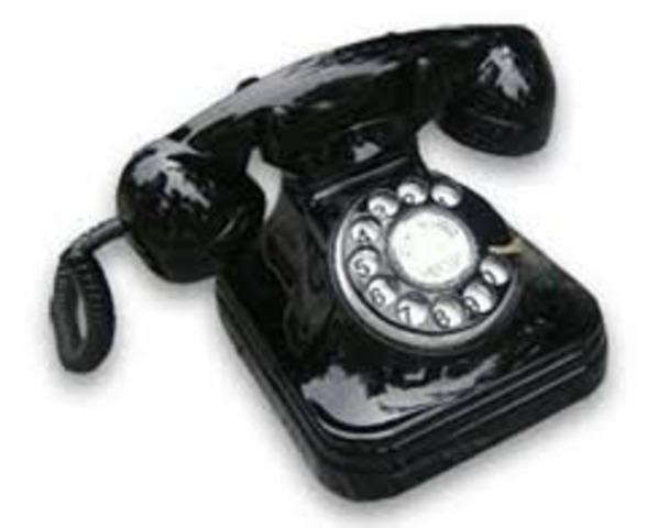 APARICIÓN DEL TELEFONO