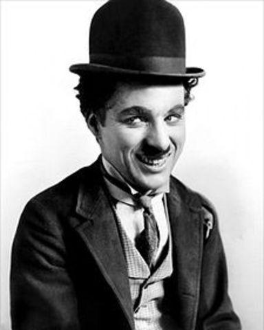 Charles Spencer Chaplin (16 April 1889-25 December 1977)