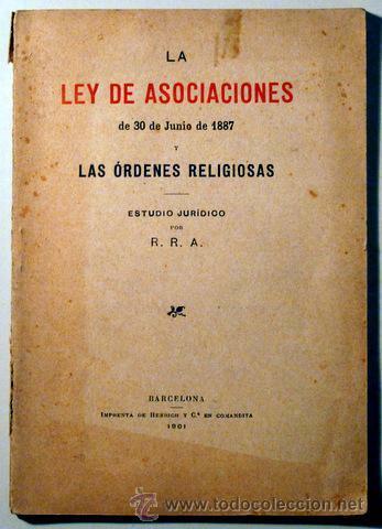 Ley de Asociaciones.