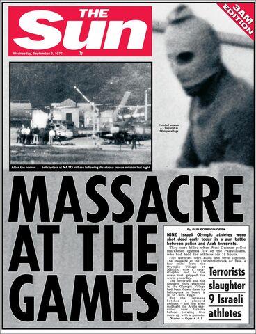 Olympiske leker i Munchen - Munchen-massakren