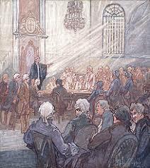 Première réunion des députés de la Chambre d'assemblée