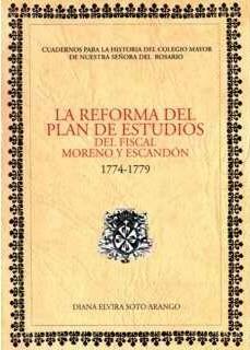 Plan de Francisco Antonio Moreno y Escandón