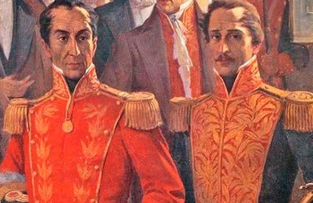 Presidencia de Simón Bolívar y vicepresidencia de Francisco de Paula Santander