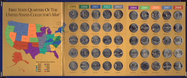 50 states coins.