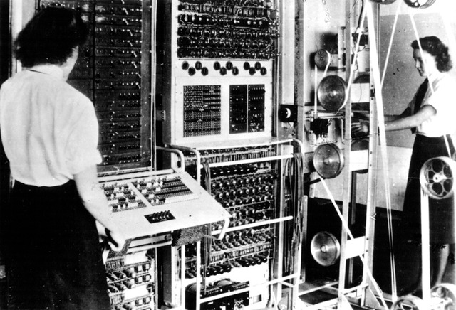 Alan Turing develops the the code-breaking machine Colossus
