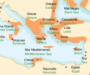 La primera colonización Griega de occidente