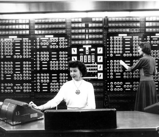Howard Aiken and Grace Hopper designed the MARK series of computers at Harvard University