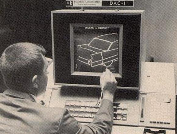 Primer diseño asistido por computadora