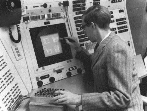 Ivan Sutherland desarrolla Sketchpad