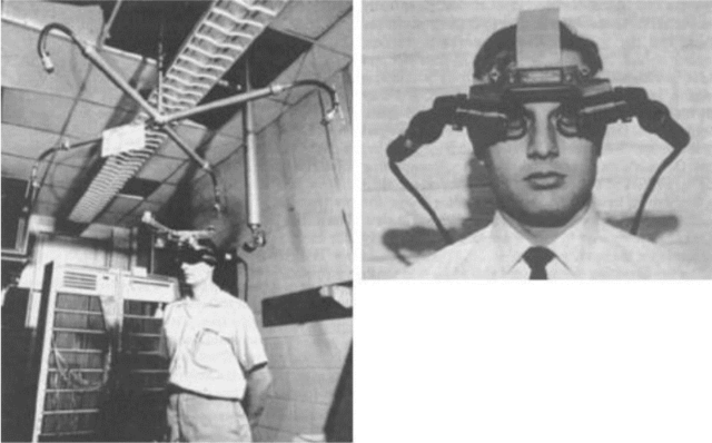Primer sistema de realidad virtual
