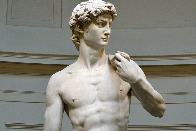 """David"" de Michelangelo"