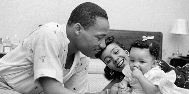 MLK had his first child!
