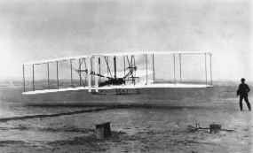 Wright brothers flight