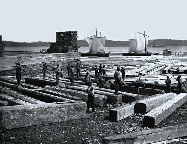 Le blocus de Napoléon et l'industrie du bois